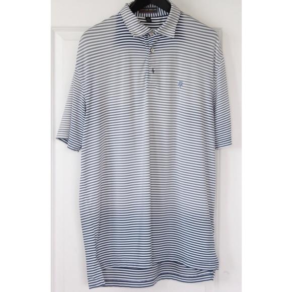 5057e732c Peter Millar Mens Polo Shirt Size M Gray. M_5b3e3ba4a31c33b704293939